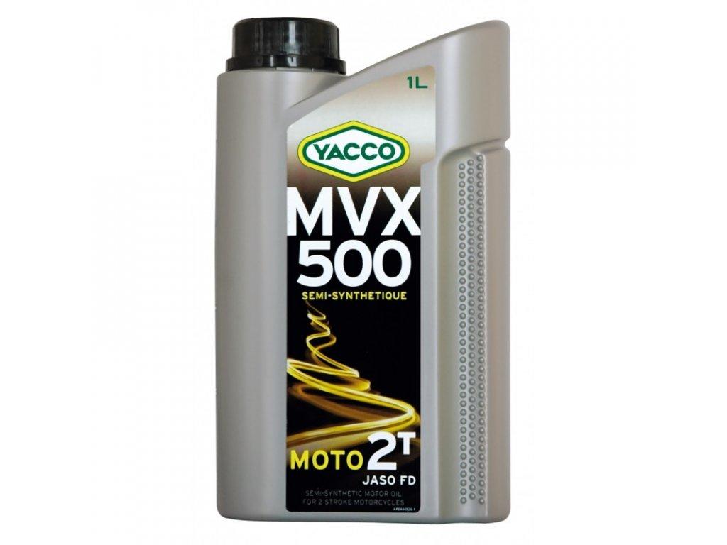 Yacco polosyntetický olej MVX 500 2T 1 l