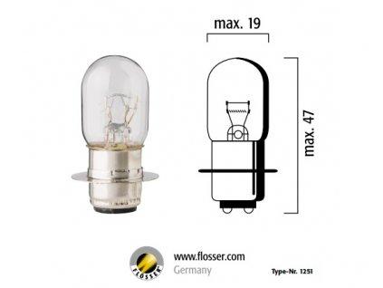 žárovka 12v25w 20600616