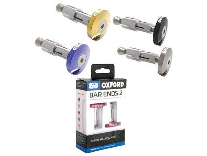 Závaží řídítek BAR ENDS 2, hliníkové, vnitřní průměr 22,2 mm