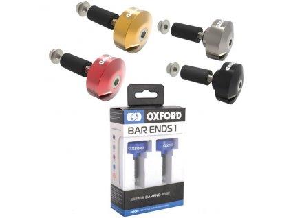 Závaží řídítek BAR ENDS 1, hliníkové, vnitřní průměr 22,2 mm