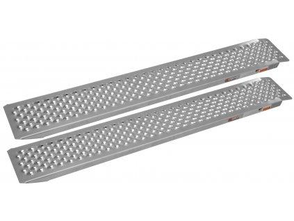 Hliníkové nájezdy přímé na čtyřkolku/MOTO, rozměry 200x26,5x6, max.1000kg