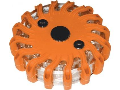 LED Pracovní světlo 16 LED oranžové výstražné, rozměry 105x35mm