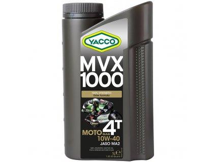 YACCO MVX 1000 4T - 1L / 10W40 syntetický esterový olej