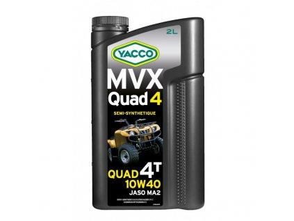 Yacco polosyntetický olej MVX Quad 10W-40 2 l