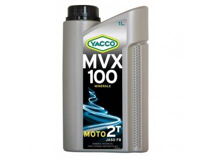 Yacco minerální olej MVX 100 2T 1 l