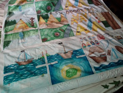 Látkový panel - Dobrodružství v pirátské zátoce