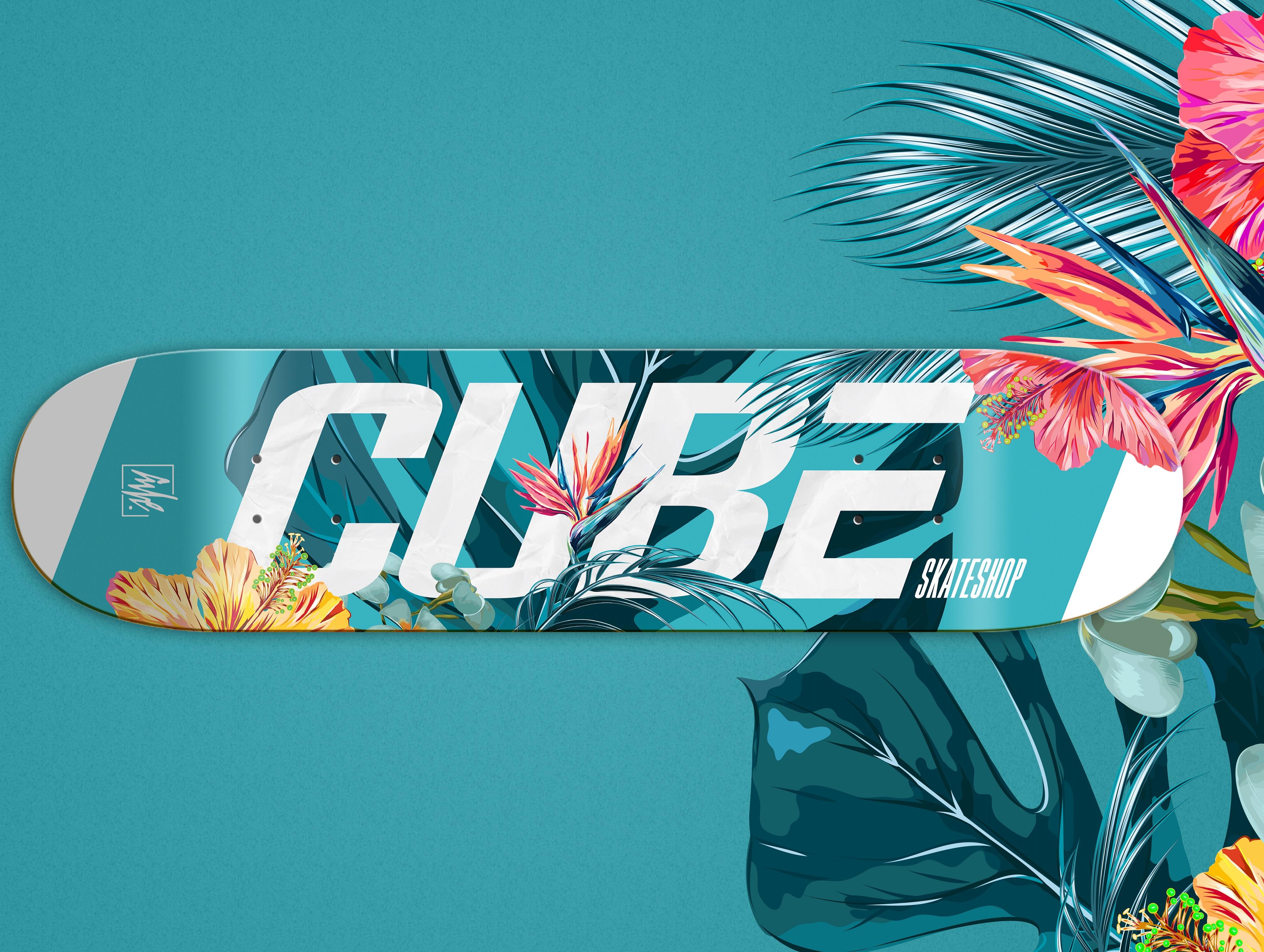 Predstavujeme vám Cube Flowers dosku a tričko!