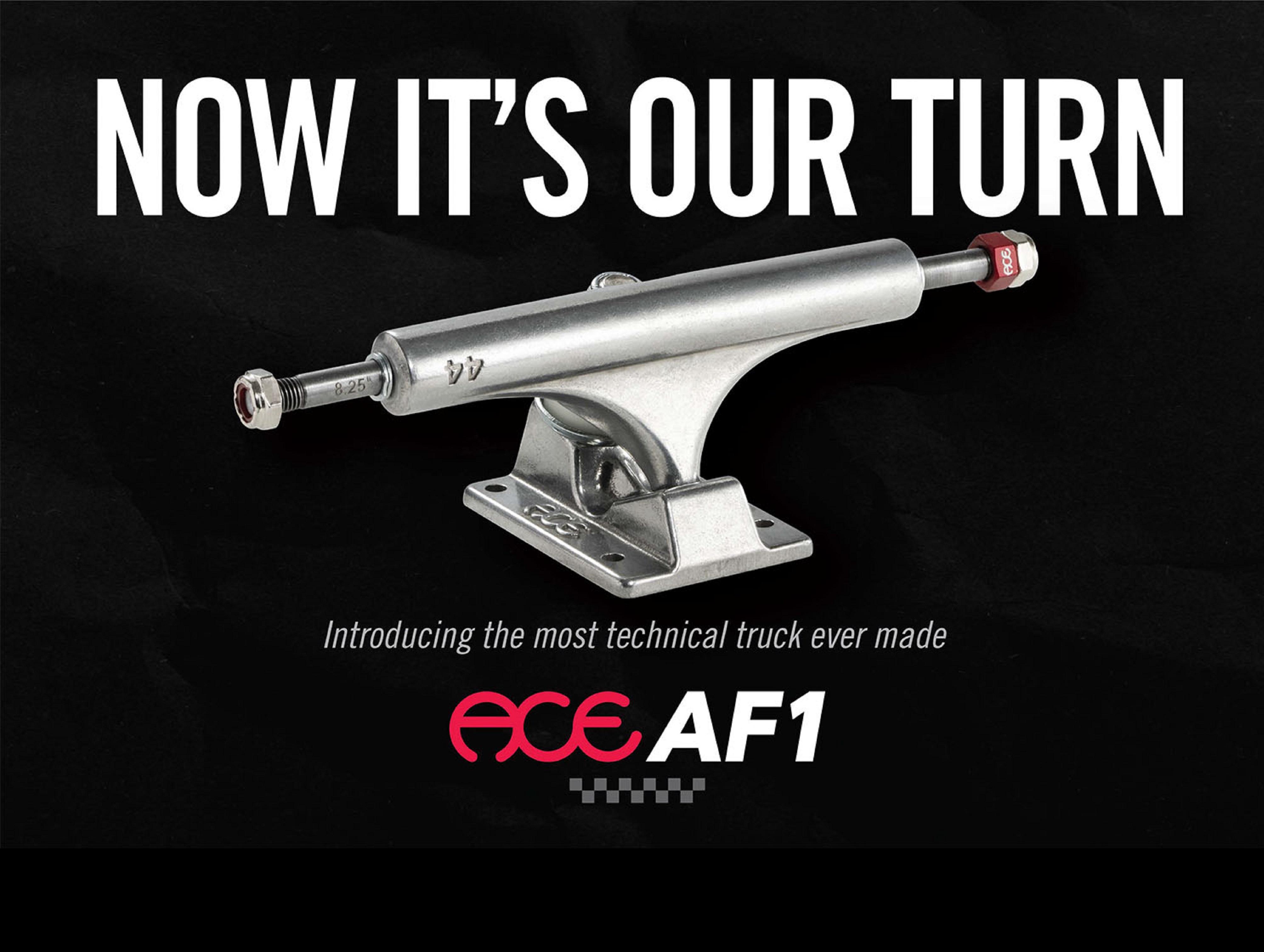 Najtechnickejšie ACE AF1 trucky sú online!