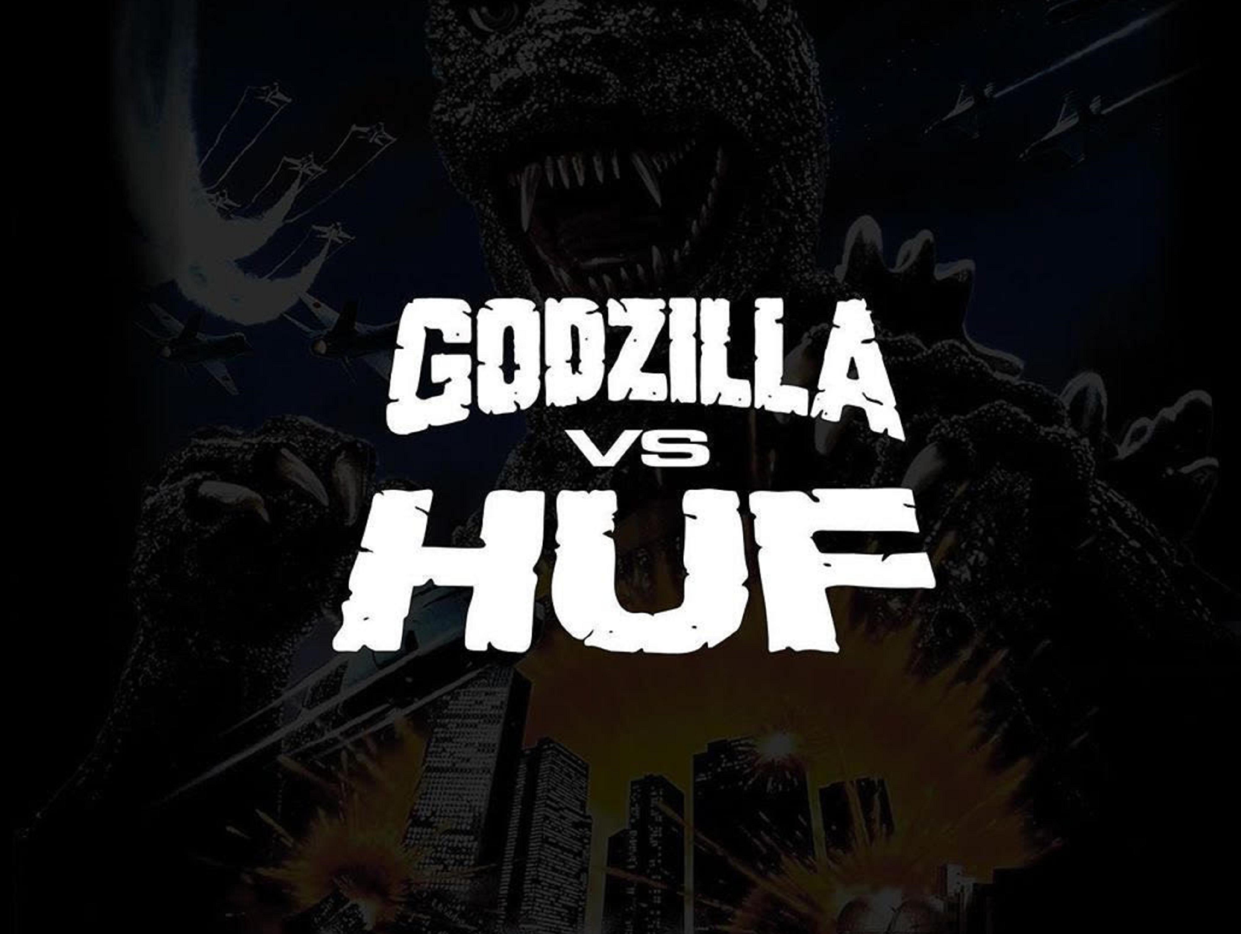 Cube ti prináša HUF vs GODZILLA kolekciu!!!