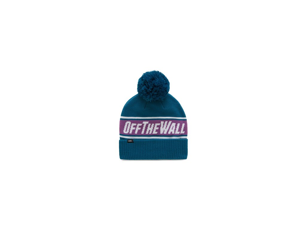 mn off the wall pom beanie turkish tile
