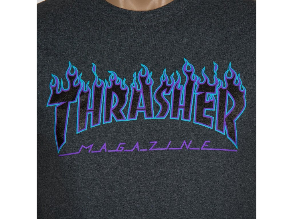 ce81cdaa4039 thrasher flame logo t shirt dark heather 1.1437590455 · thrasher flame logo tee  dark heather grey s234813dgh 02.696 ...