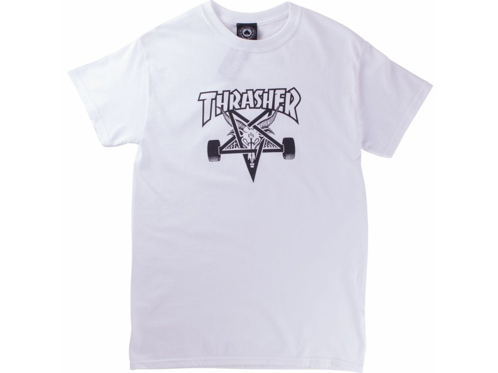 thrasher skate goat t shirt white 4.1478175296