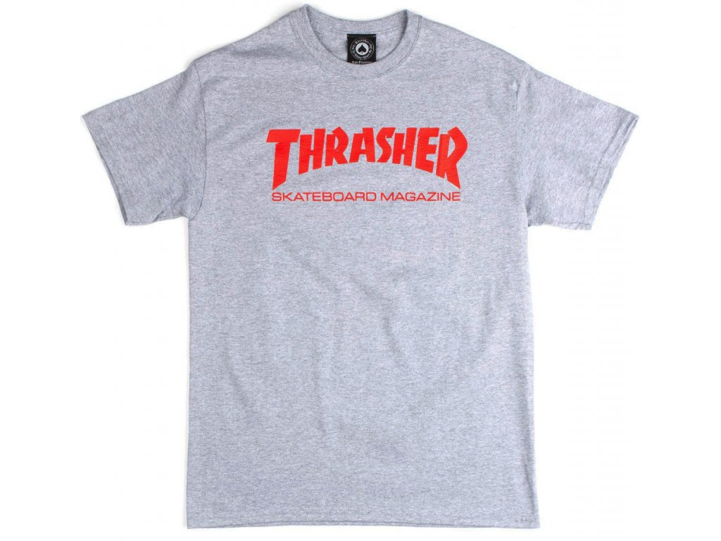 thrasher skate mag t shirt grey 1.1486244590