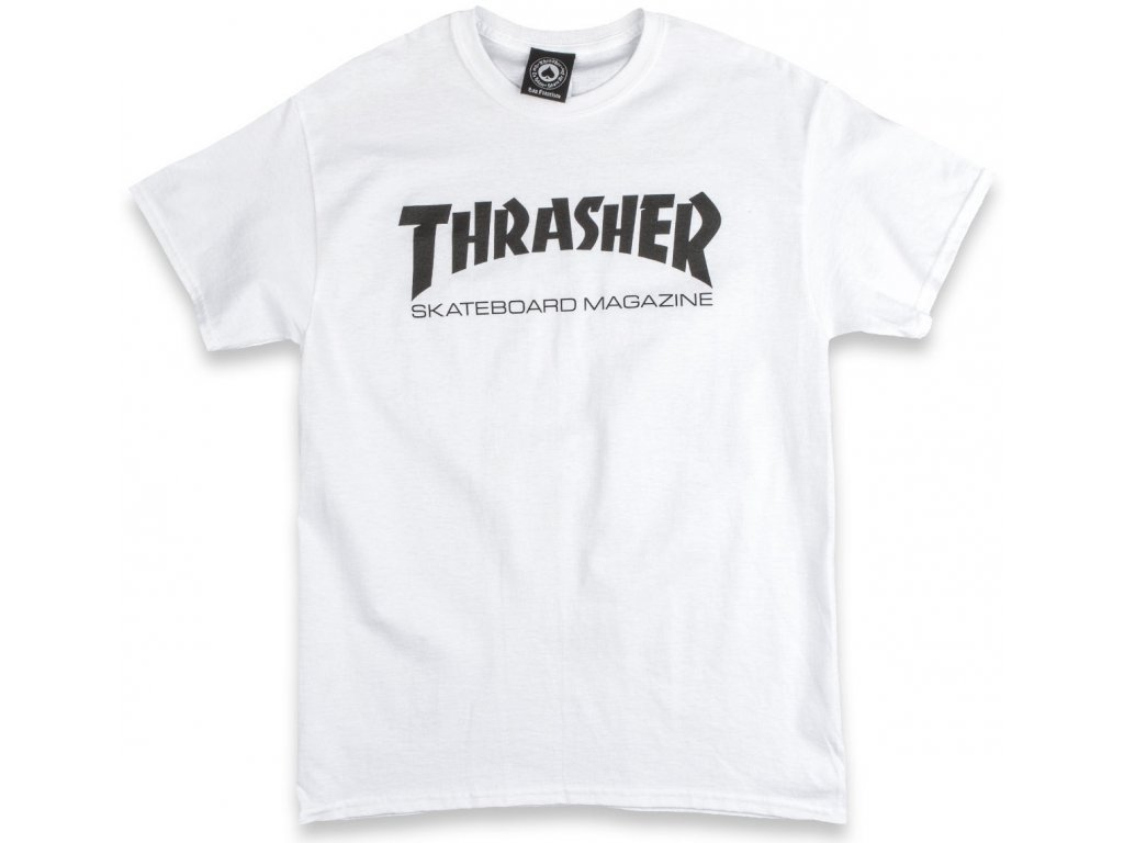 thrasher skate mag t shirt white 1.1486255694