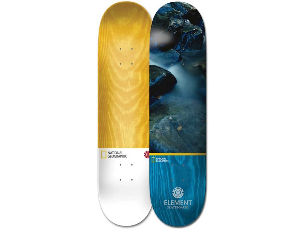 Element National Geographic Water Blue Stain Deck B