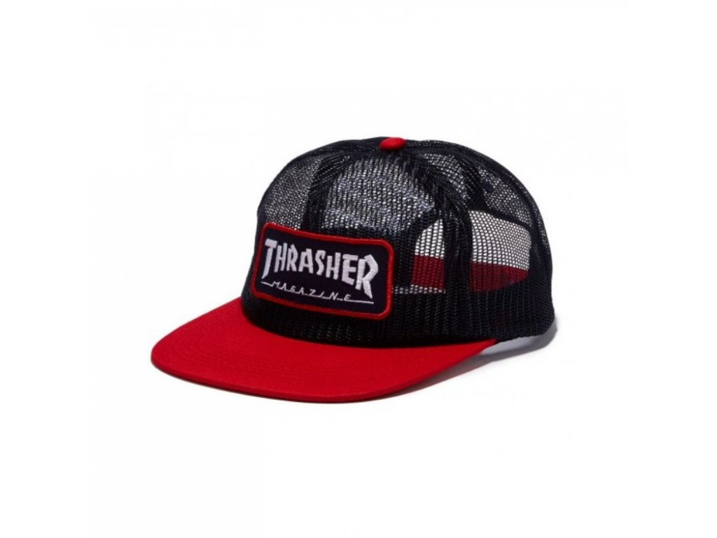 Thrasher Magazine Logo Mesh Blue Red 1024x1024
