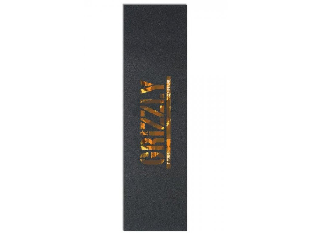Grizzly T Puds Stamp Print Griptape in Wildlife 800x800
