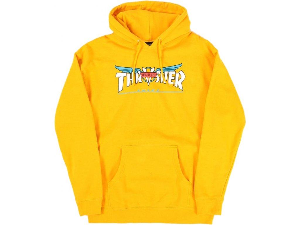 THRASHER - Venture Collab Gold Hood