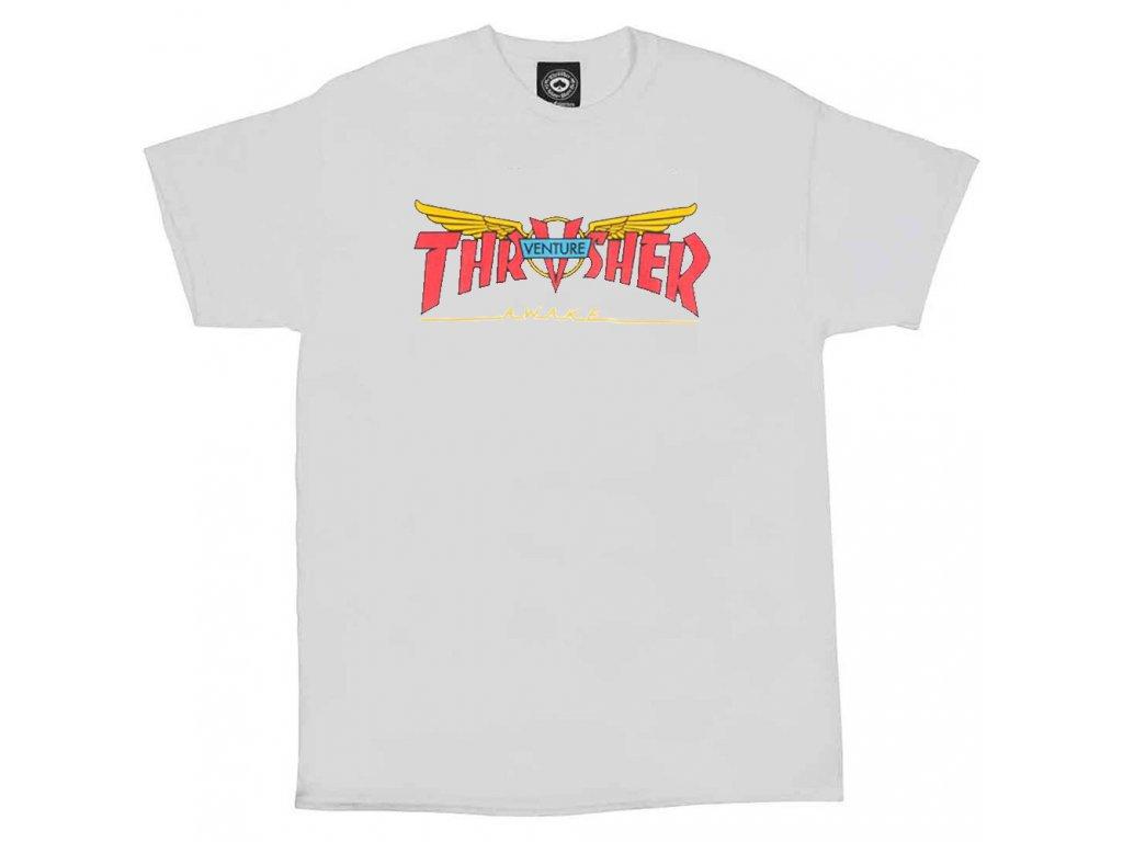THRASHER - Venture Collab White Tee