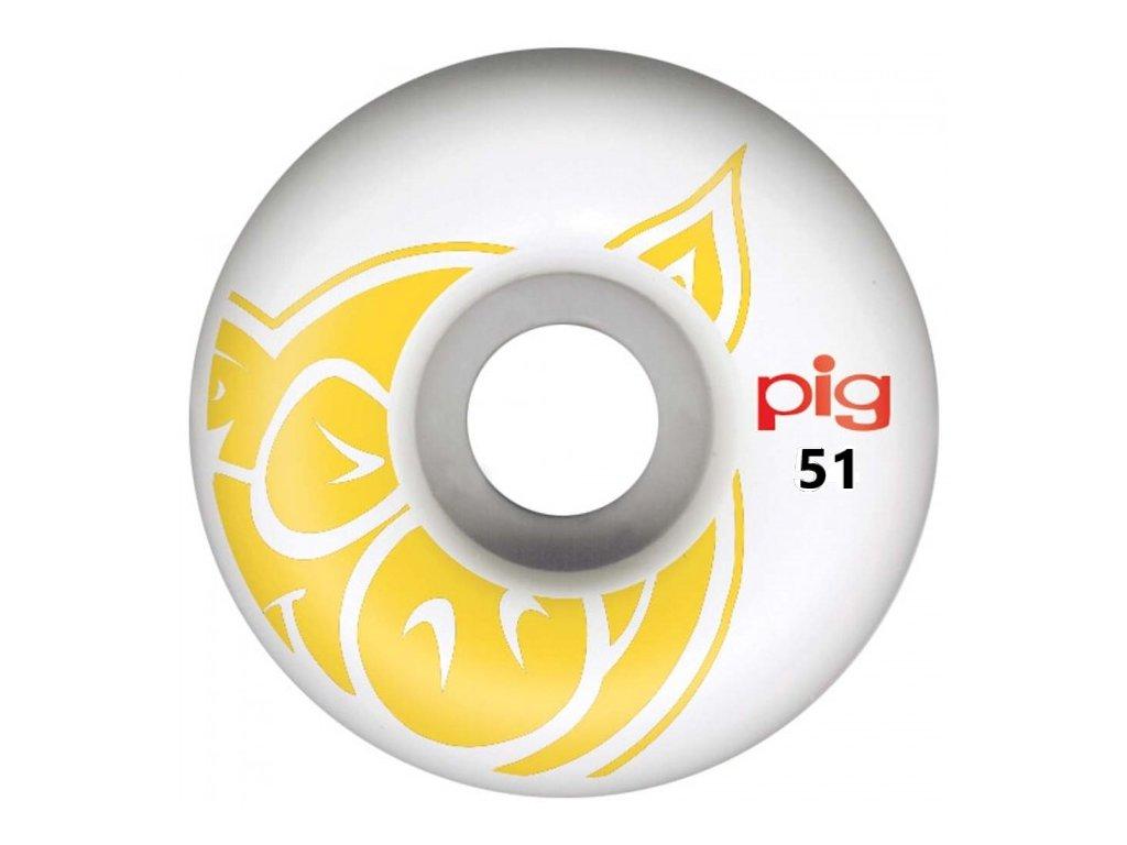 pw pig head 54 yellownat