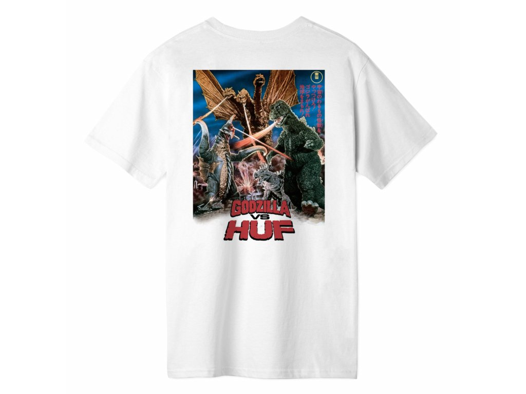 DESTROY ALL MONSTERS S S TEE WHITE TS01366 WHITE 02