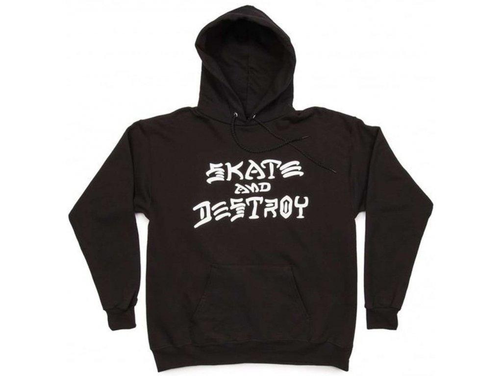 thrasher skate destroy hoodie black p93645 266298 zoom