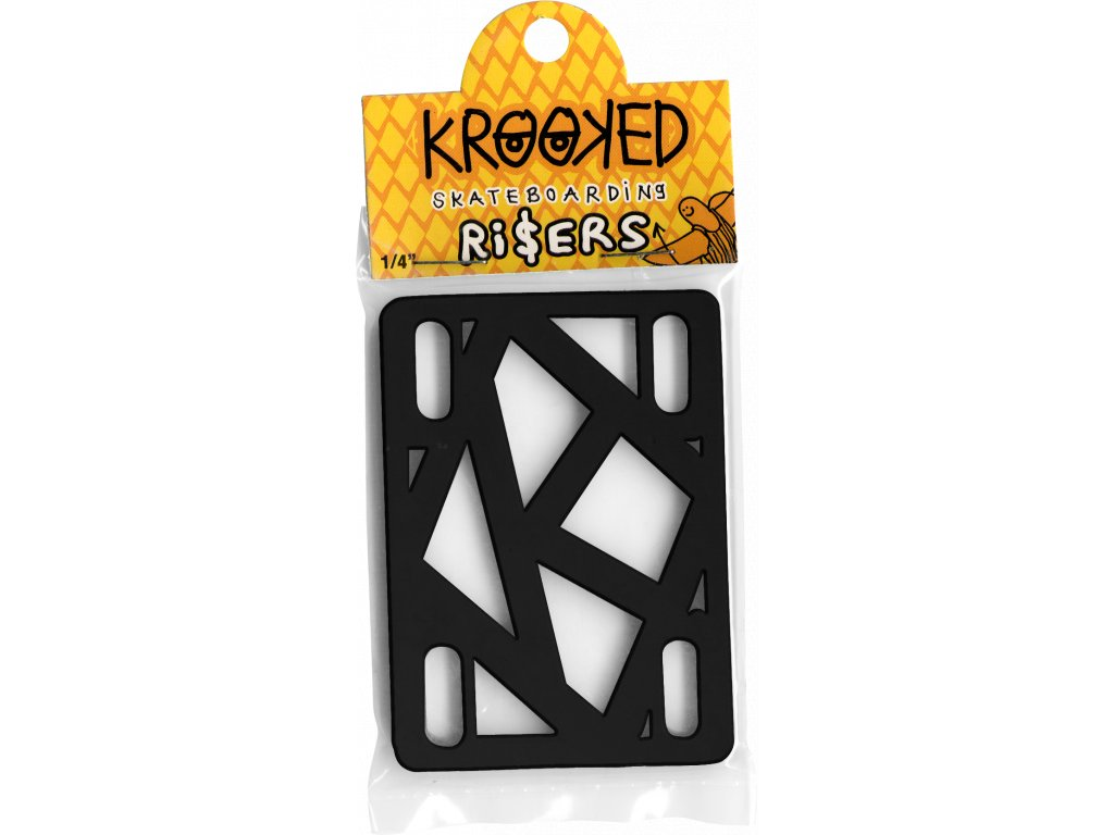 krooked risers quarter inch