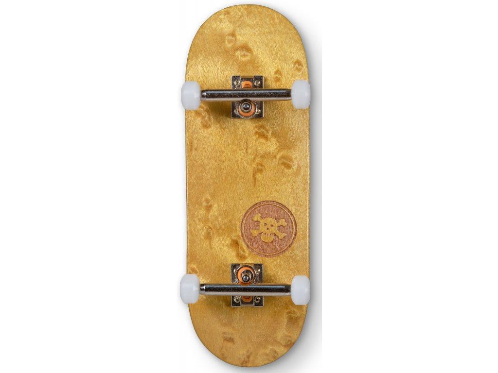 "Blackriver - ""BR Mini Logo"" yellow Wide Shape 32mm"