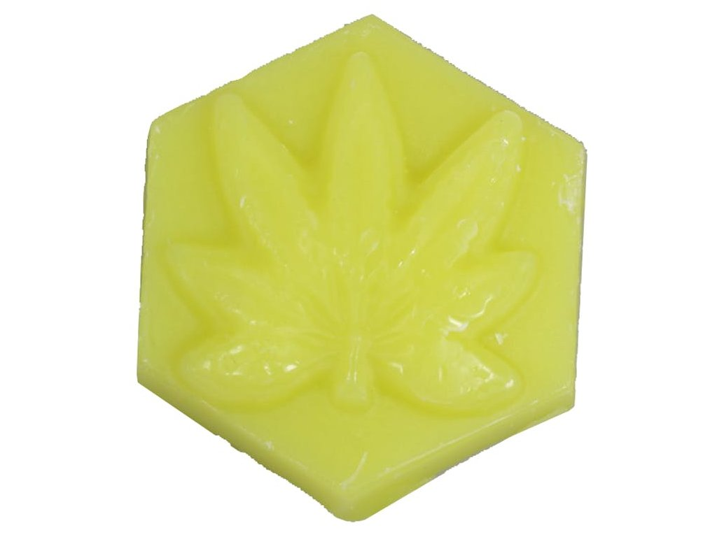 ganj wax pineapple express light green skateboard wax small 00
