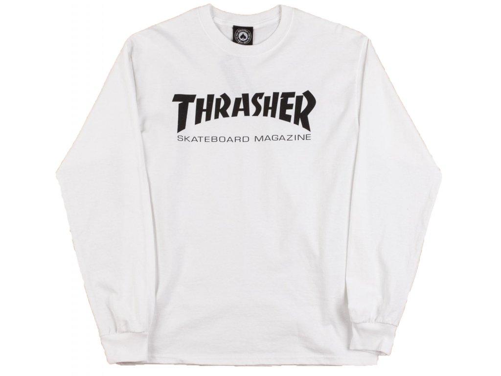 thrasher skate mag long sleeve t shirt white1