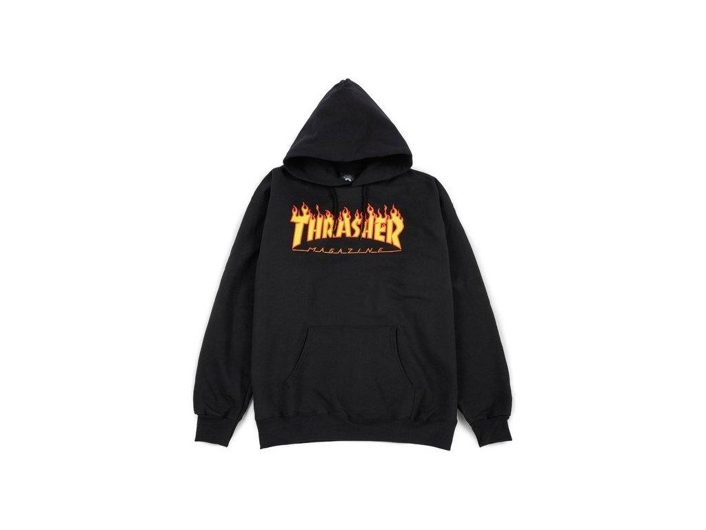 felpe thrasher flame logo hoodie black 50598 674 1