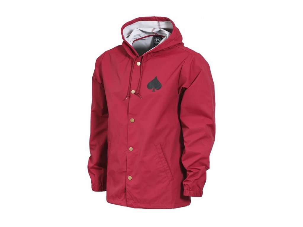 53a34c85800b THRASHER - New Oath Coach Jacket · thrasher jackets thrasher new oath coach  jacket cardinal ...
