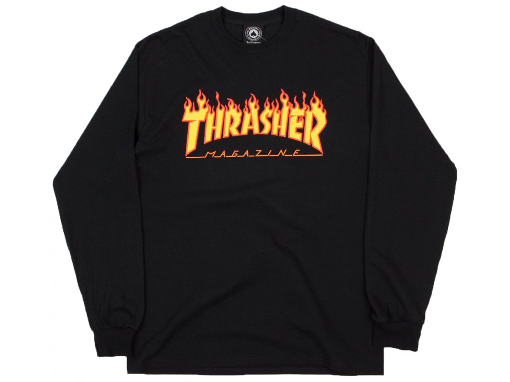 thrasher flame logo long sleeve t shirt black 1 df4fd28e 0cda 436a 86dd b1d968c335aa