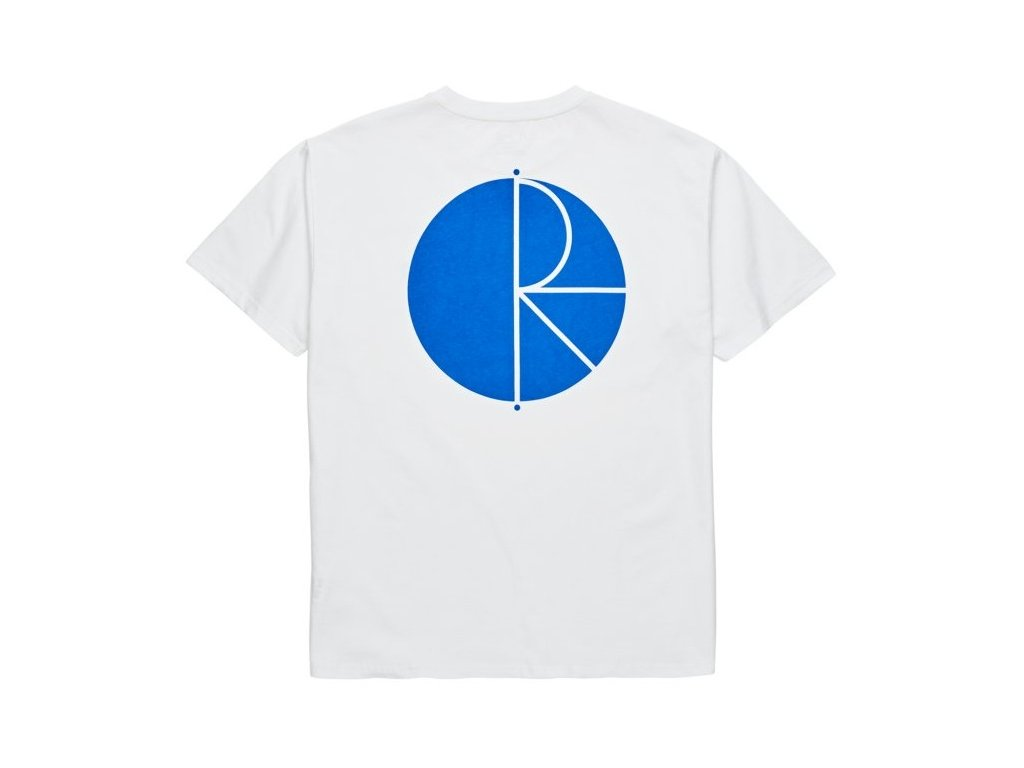 POLAR - Fill Logo Tee White/Blue