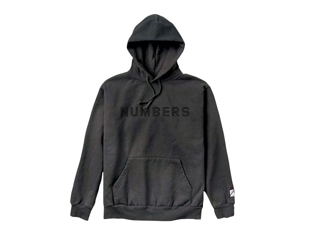 Numbers - OUTLINE WORDMARK HOOD