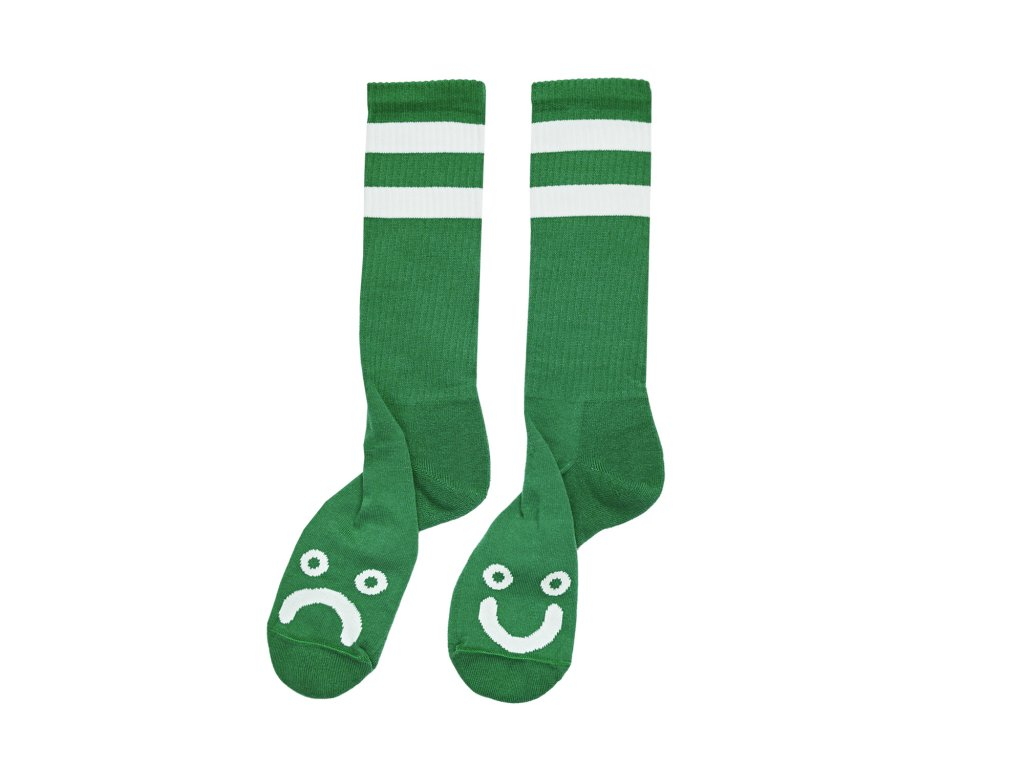 HAPPY SAD SOCKS GREEN