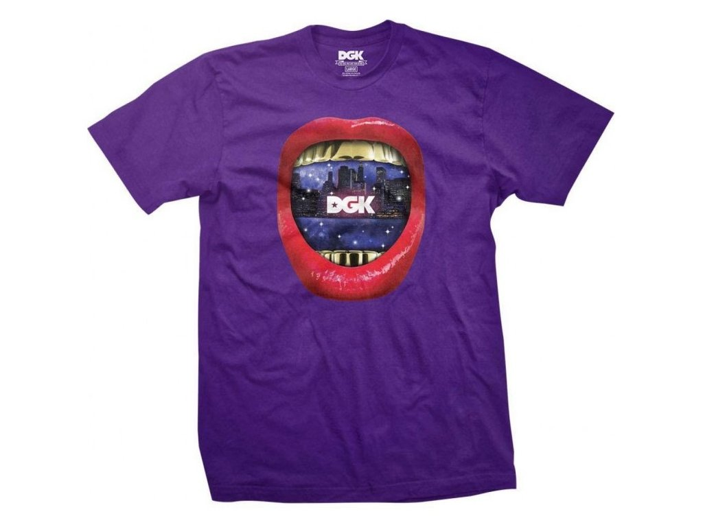 DGK - Sounds Tee Purple