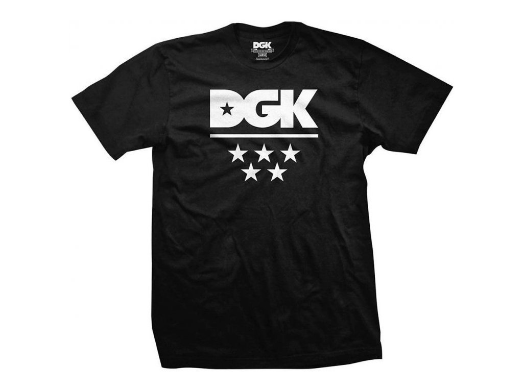 DGK - All Star Tee Black