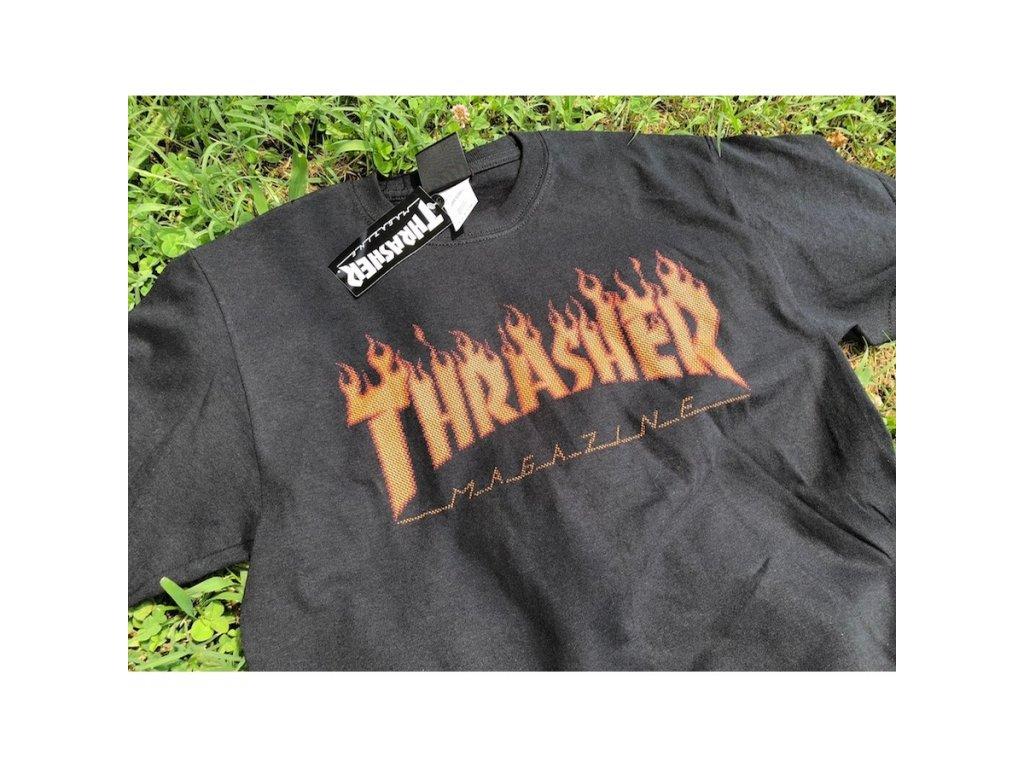 f9a6ef3d1caa ... Black D · rzz · rd tshirt thrasher flame halftone · erz