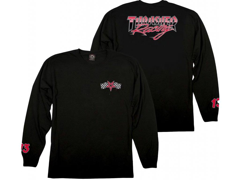 thrasher racing long sleeve black 2000x