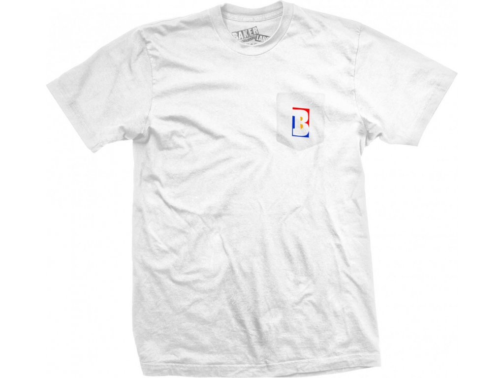 2Baker Capital B Pocket T Shirt White