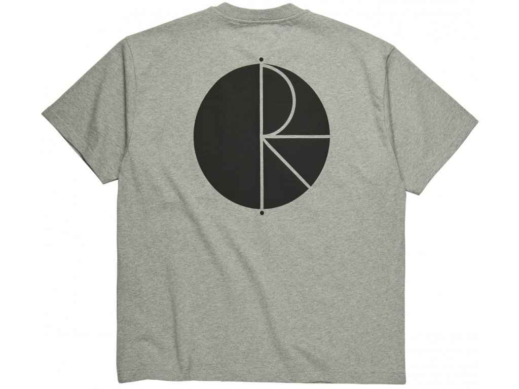 FILL LOGO TEE HEATHER GREY 2