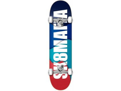 sk8mafia og logo overlap 7 5 complete skateboard1