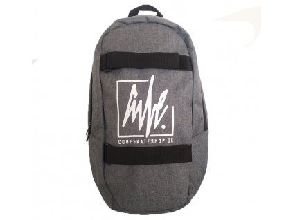 CUBE - Skate Backpack Grey