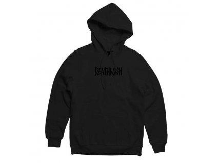 Deathwish Death Tag Pullover Hoodie Black Black