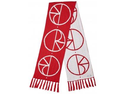 STROKE LOGO SCARF RED 1