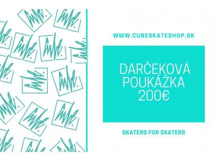 Darčeková Poukážka - 200€