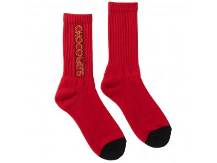 CHOCOLATE - Parliament Red Socks
