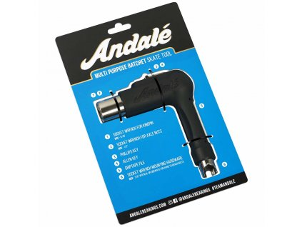 Andale Multi Purpose Skateboard Tool Black 1