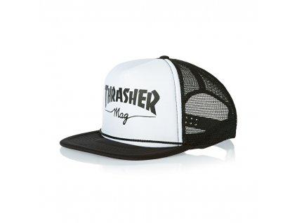 THRASHER - Mesh Logo White/Black